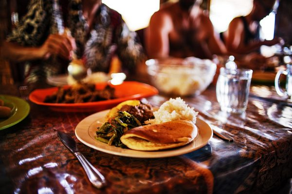 Luxury Food in Luxury Hotel Simeulue Island