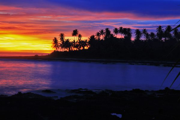Beach Simeulue Island, North Sumatra