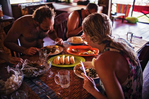 Diner with friends - Best things to do on Simeulue Island