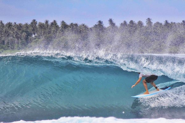 Surfing Dylans Simeulue Island - Great Place To Surf