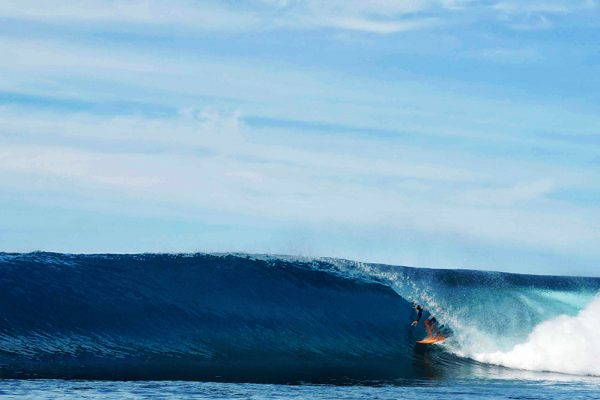 Huge Swells Simeulue Island